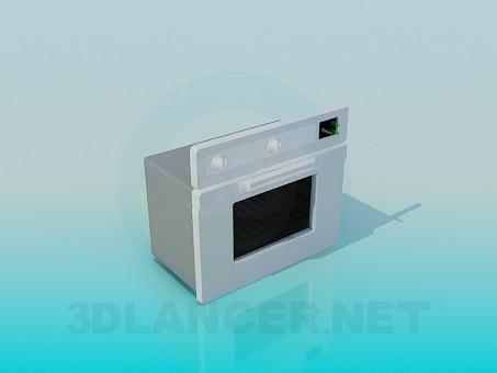 3d моделирование Духовой шкаф модель скачать бесплатно
