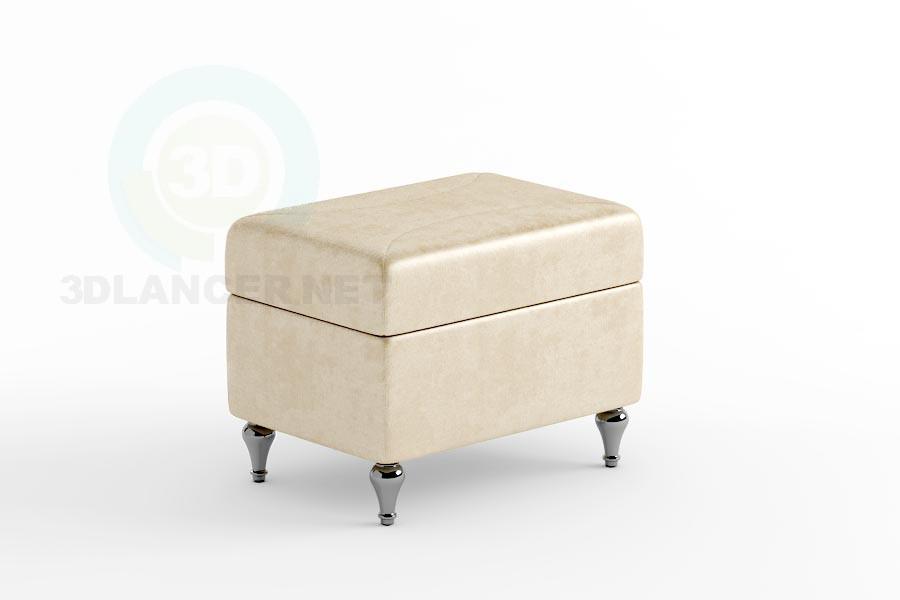 3d model Puff Crete 60 - preview