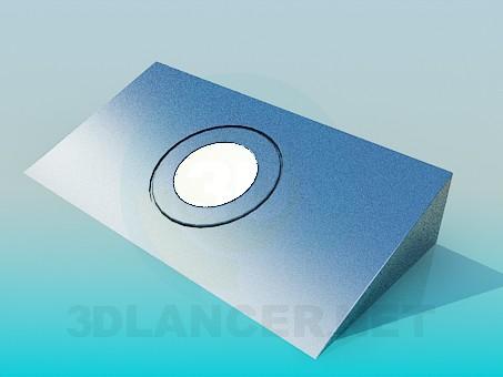 3d модель Галогенный светильник – превью