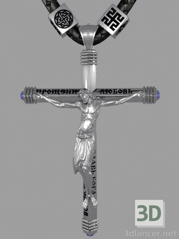 3d model pectoral cross - preview