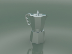Moka Pitcher (Small, Platinum)