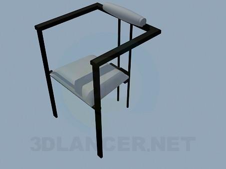 3d модель Стілець на трьох ніжках в стилі хай-тек – превью