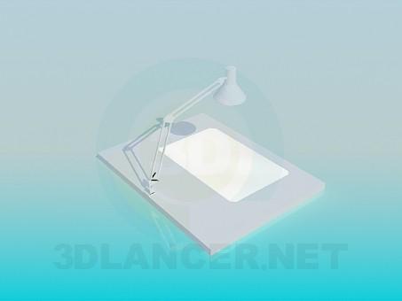 3d модель Робочий стіл інженера – превью