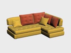 Canapé d'angle Palerme