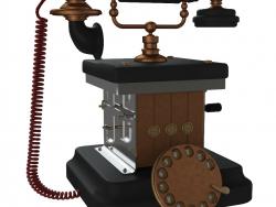 Téléphone rétro