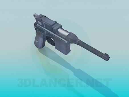 3d model Mauzer - preview