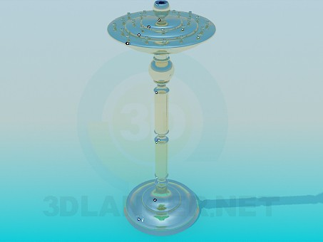 3d modeling Candlestick Church model free download