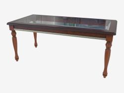 Coffee table with glass (1200х600х514)