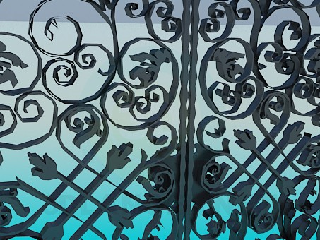 3d model Forged Gates - preview
