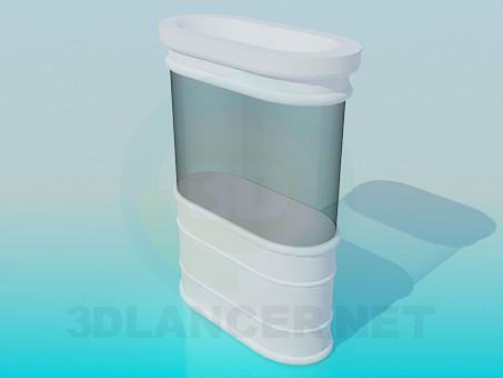 3d model Aquarium - preview