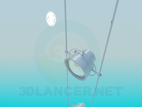 3d model Pendant lamp - preview
