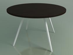 Tavolo rotondo 5455 (H 74 - P 120 cm, impiallacciato L21 wengè, V12)