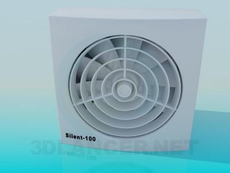 modelo 3D Ventilador - escuchar