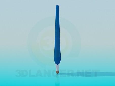 3d моделювання Пензлик для малювання модель завантажити безкоштовно