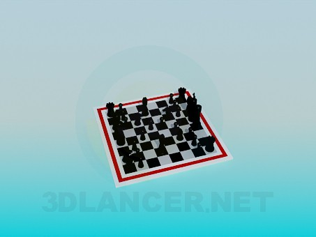 3d model Chess - preview
