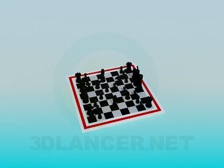 3d модель Шахи – превью