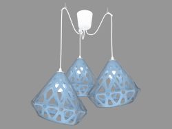 Pendant Light (Blue)