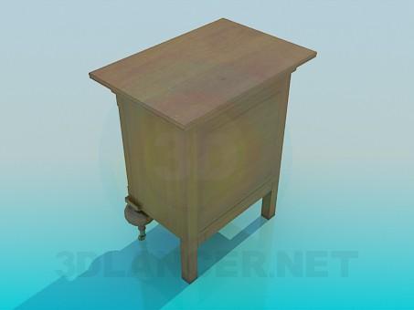 modelo 3D Cerraduras de armario - escuchar