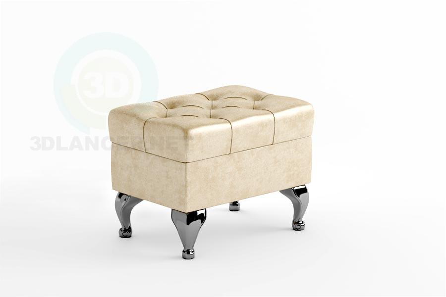 3d model Montserrat puff 60 - preview