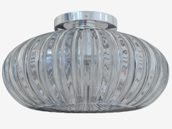Ceiling lamp in glass (C110244 1grey)