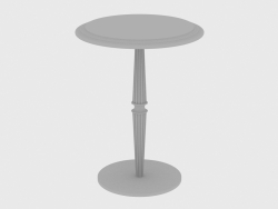 Mesa de café GUERIDON SMALL TABLE MARBLE (d40xH52)