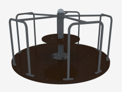 Children's playground carousel (6503L)