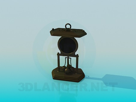 3d model Recuerdo - máquina de movimiento perpetuo - vista previa