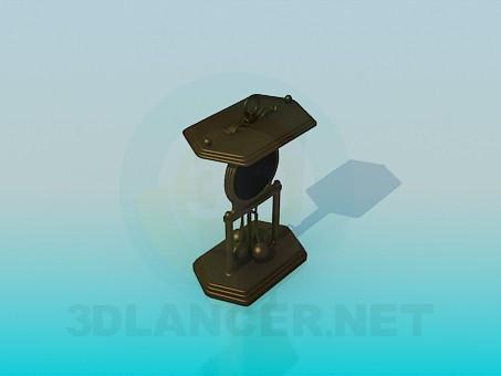 3d модель Сувенир - вечный двигатель – превью