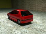 Peugeot 206 car
