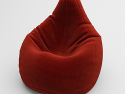 an armchair a pear
