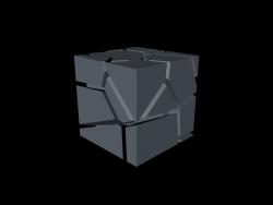 shuttered cube