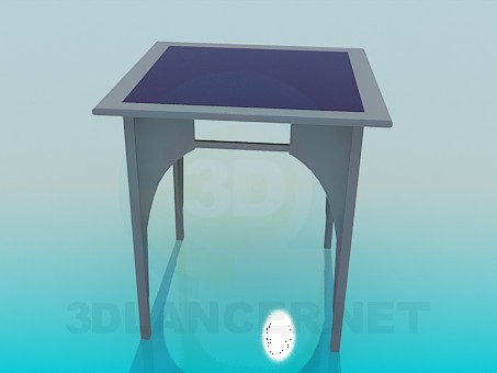 3d modeling Interior table model free download