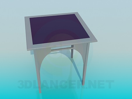 3d модель Столик интерьерный – превью