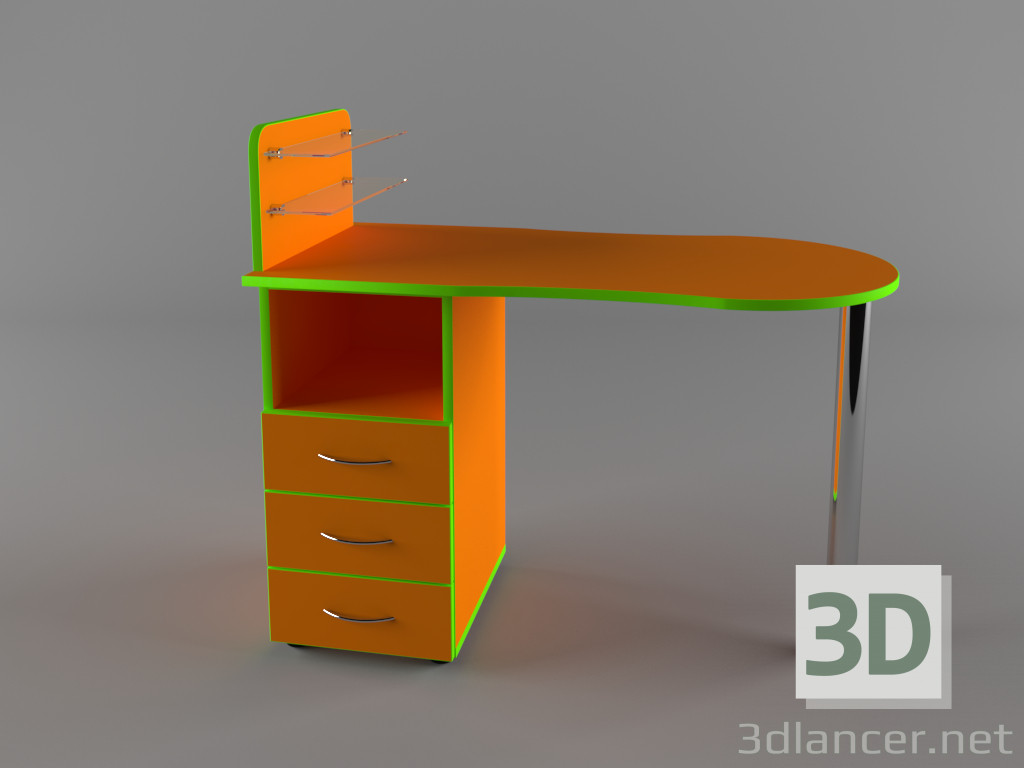 3d model Table Manicure - preview