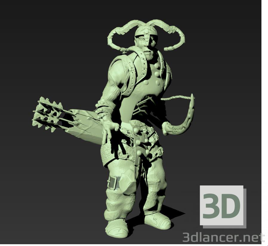 3d model Archer - preview