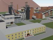 Komsomolskaya mine in Kopeisk