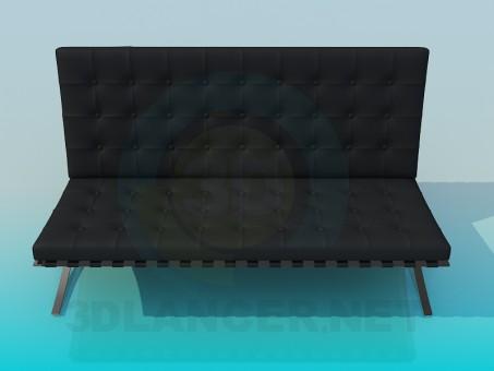 3d модель Диван расскладной – превью