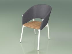 Comfort chair 022 (Metal Milk, Gray)
