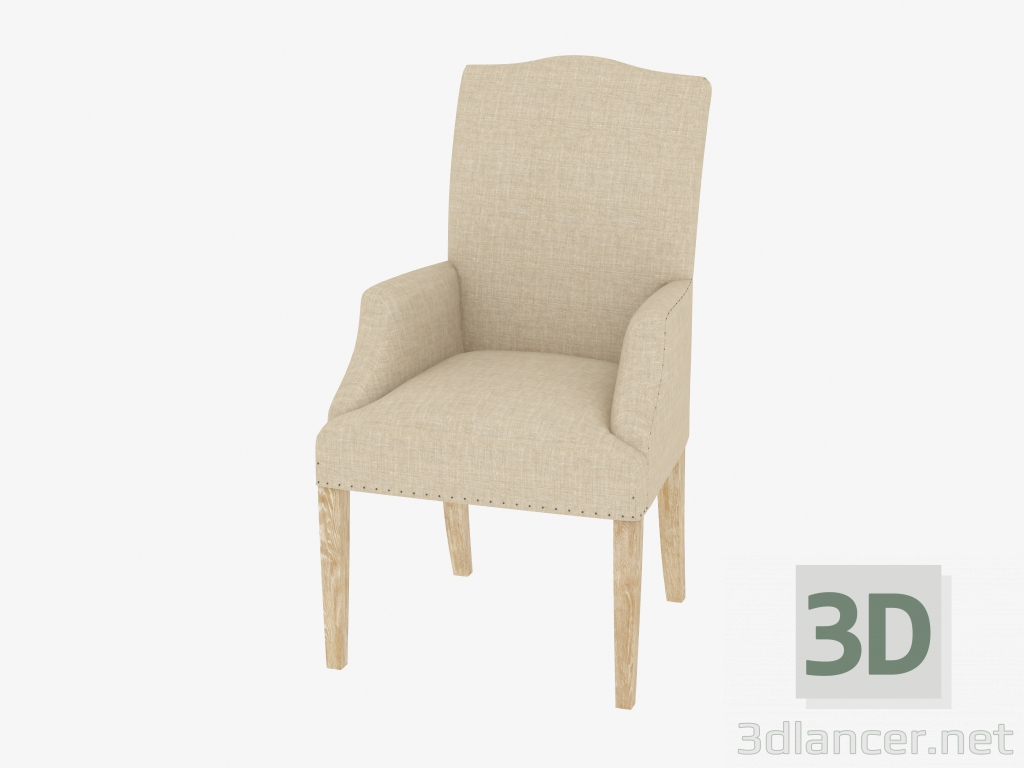 3d modeling Dining chair with armrests LIMBURG ARM CHAIR (8826.1008.А015.А) model free download