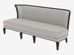 Sofa in the style of art deco BYRON (2250)