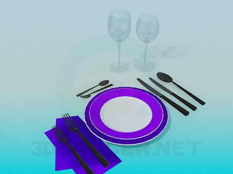 3d model Cutlery - preview
