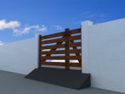 Portão moderno