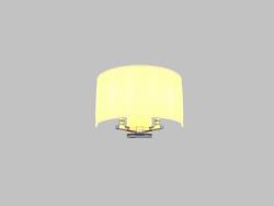 Sconce (3122A beige nikel)