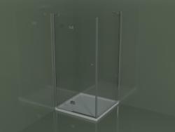 Cabina doccia SA + SF per piatti doccia angolari