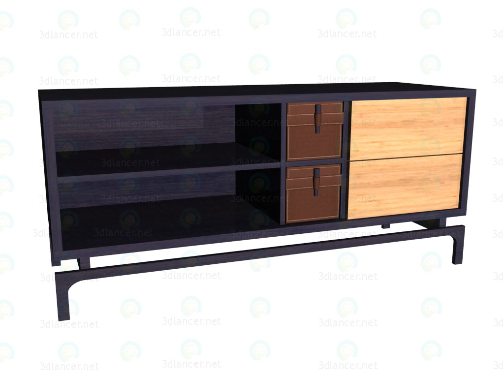 3d model TV Stand (Wenge boxes) VOX - preview