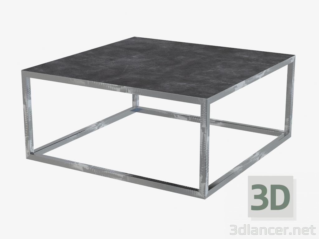 3d model Magazine table Trinity (100x100),Baxter max(2013