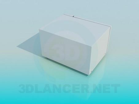 3d модель Микроволновая печь – превью