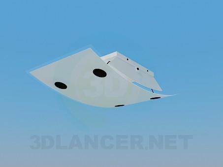 3d модель Світильник в стилі модерн – превью