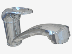 Washbasin mixer with movable spout Funkia (BEF 026M)