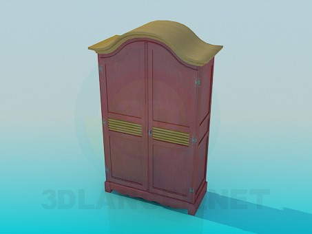 3d modeling Wardrobe model free download